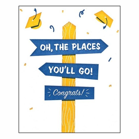 the places youll go grad card