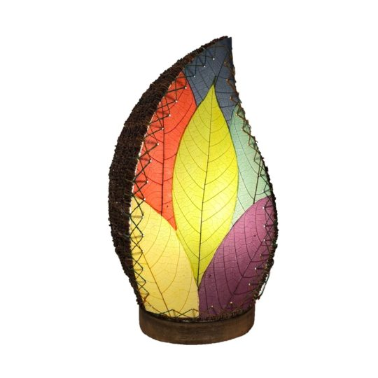leaflet table lamp multi