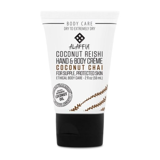 coconut chai travel lotion alaffia