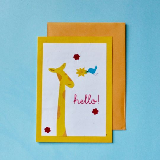 flown in for you card styled