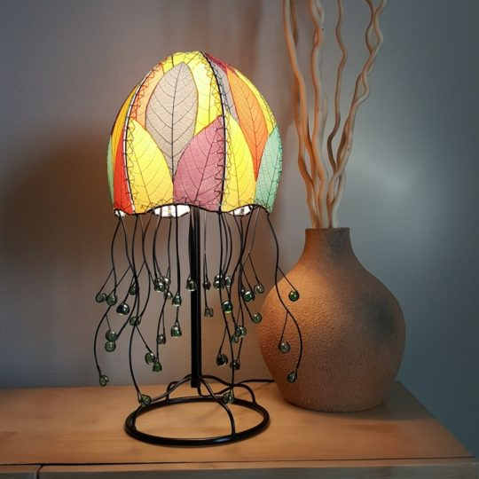 jellyfish leaf table lamp