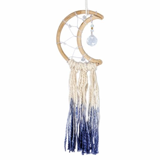 little blue moon dream catcher