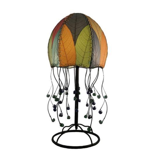 multi jellyfish leaf table lamp