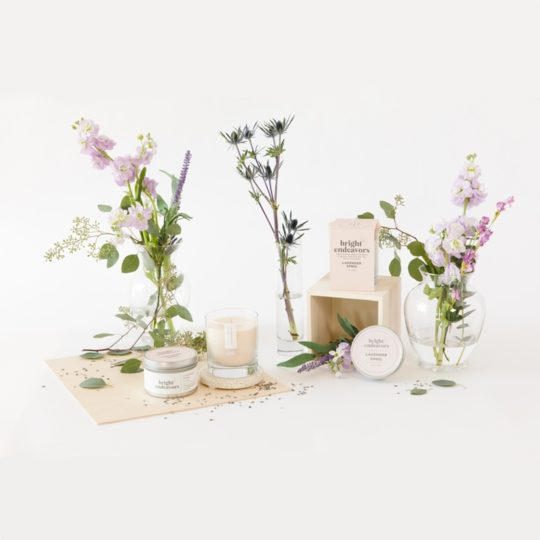 Bright_Endeavors_lavender sprig candles