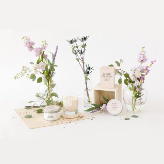Bright_Endeavors_lavender sprig candles