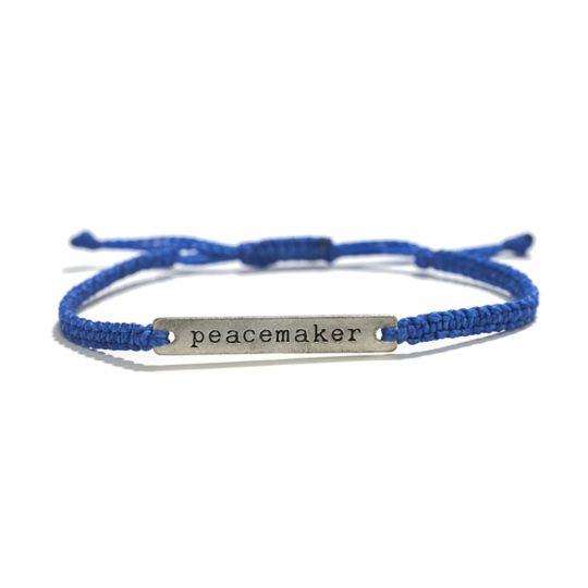 cobalt blue peacemaker bracelet