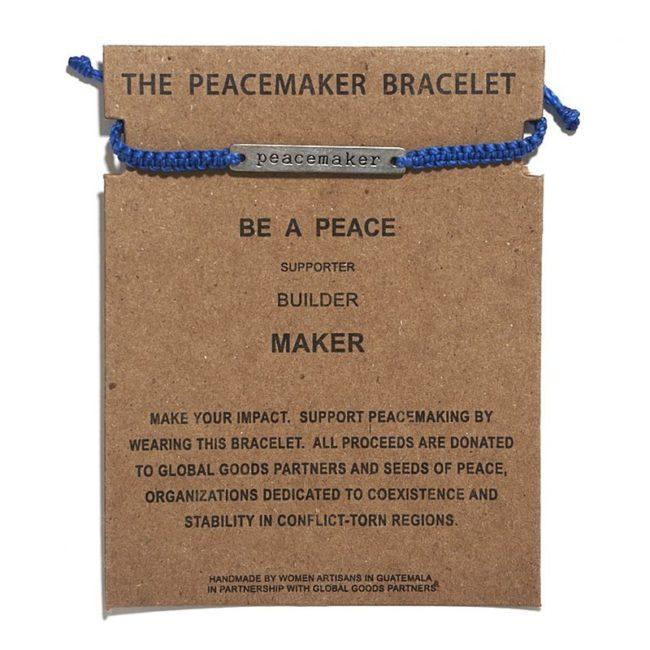 peacemaker bracelet cobalt blue