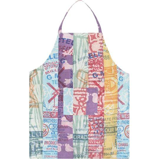 recycled flour sack apron