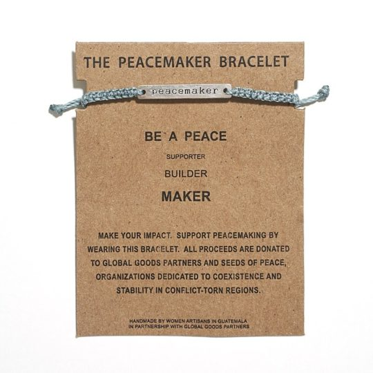 sea mist peacemake bracelet card