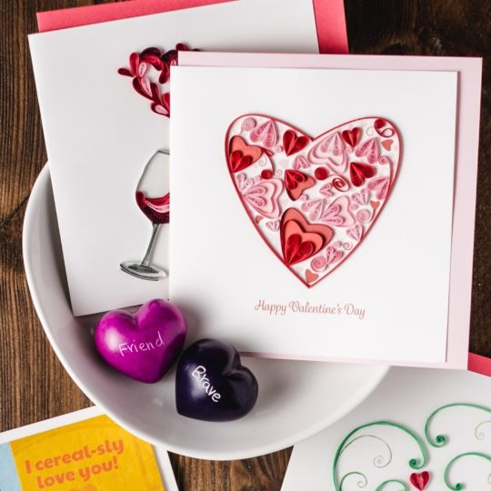 heart of hearts card