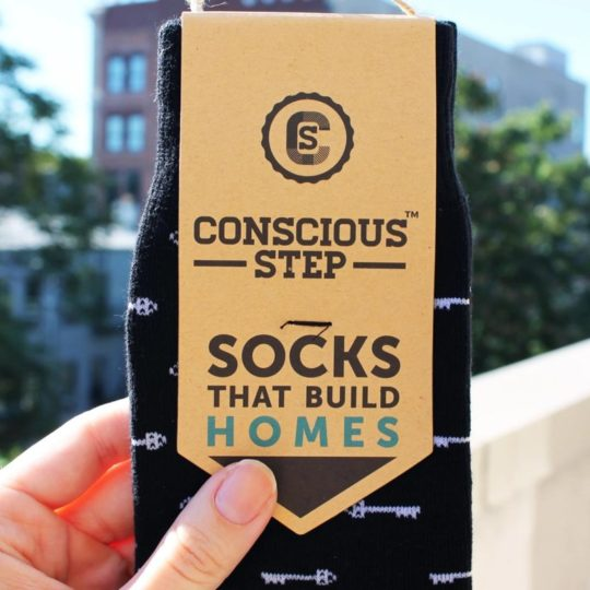 socks that build homes styled