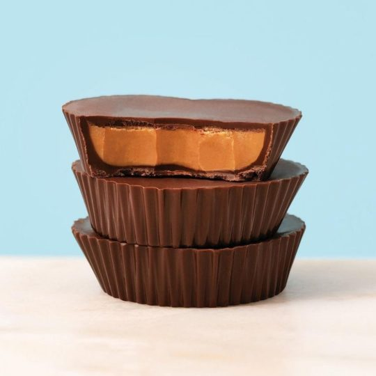 theo peanut butter cups detail