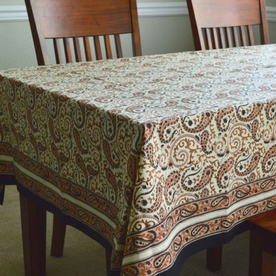 chai paisley tablecloth