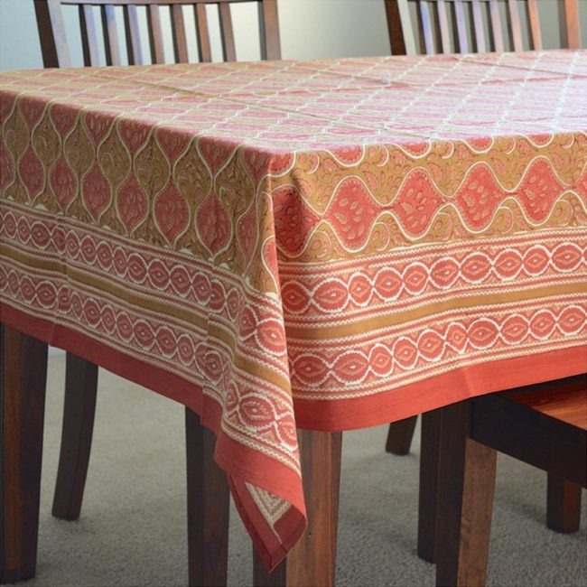 jaipur palace square tablecloth