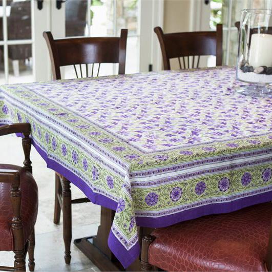 wisteria blossom tablecloth