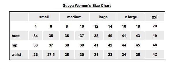 Sevya-size-Chart