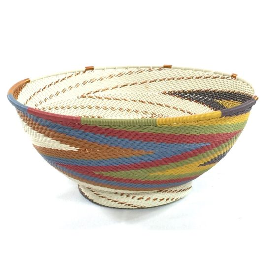 painted desert telephone wire large bowl