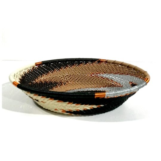 telephone wire bowl small oval