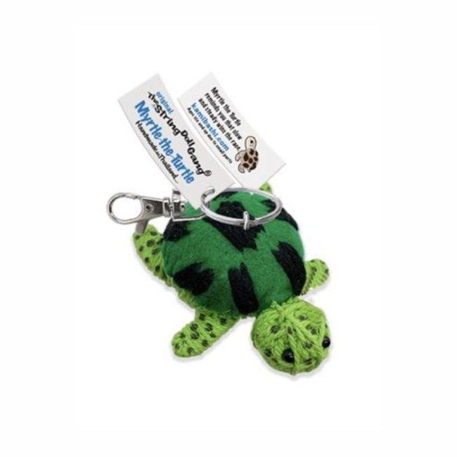 Myrtle the Turtle String Doll Keychain