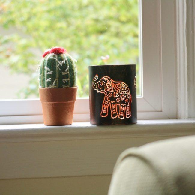 elephant lantern styled