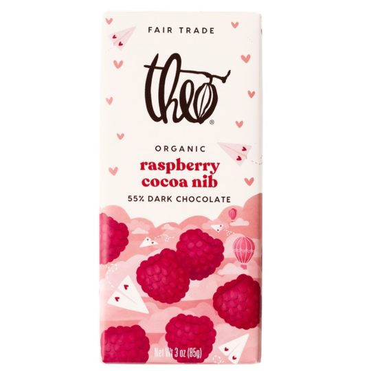 Theo_Raspberry_Nib chocolate bar