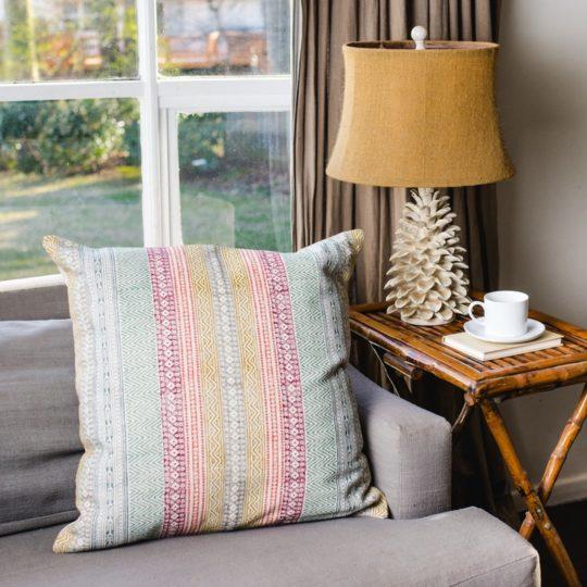Caravan Printed Pillow styled 1