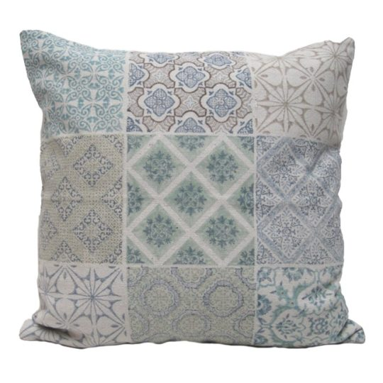 Portico dhurry multi printed pillow