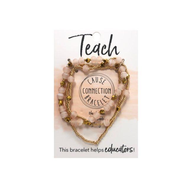 Cause connection bracelet - teach