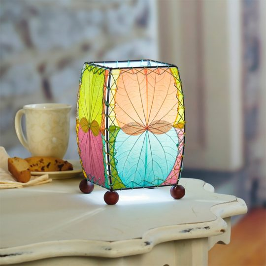 Mini Table Leaf Lamp Multi styled