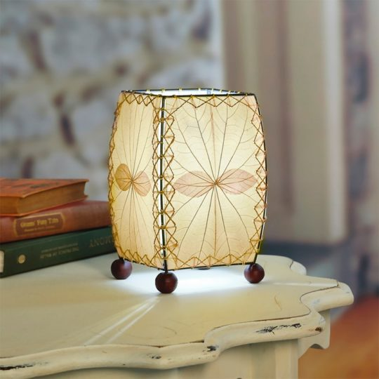 Mini Table Leaf Lamp natural styled