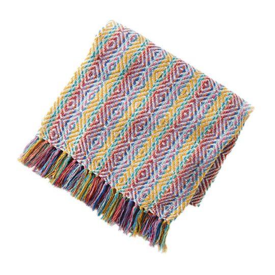 Yaatra rainbow rethread throw