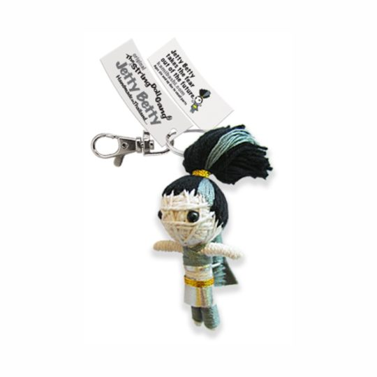 jetty betty string doll keychain