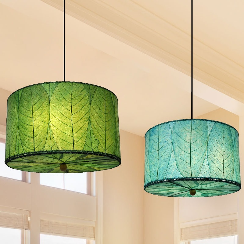 pendant leaf lamps