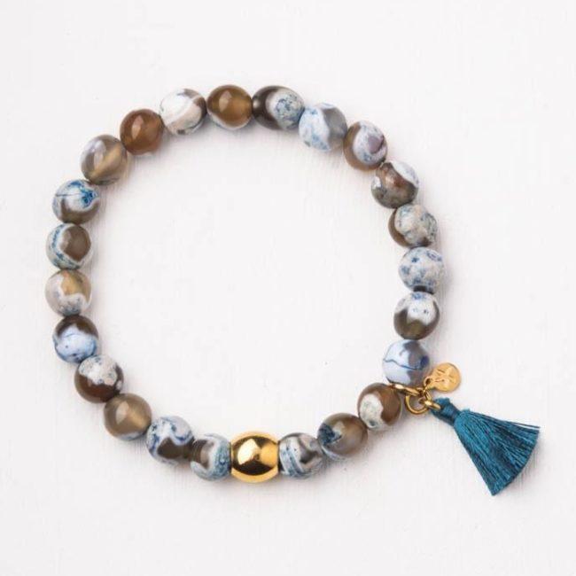 Astra Tassel Bracelet
