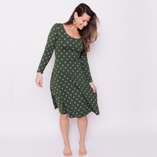 Delilah dress green