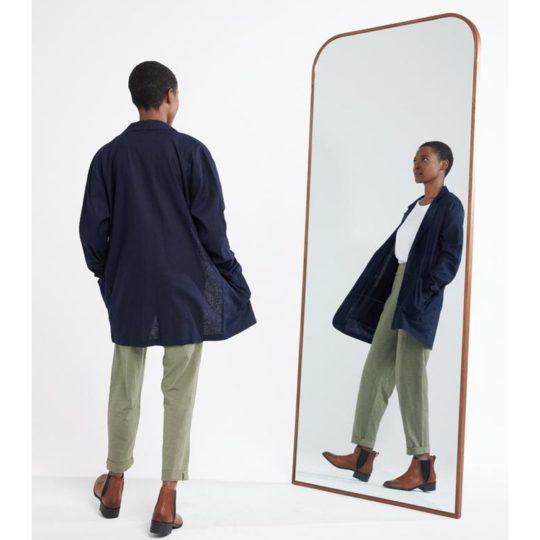 brielle linen jacket back